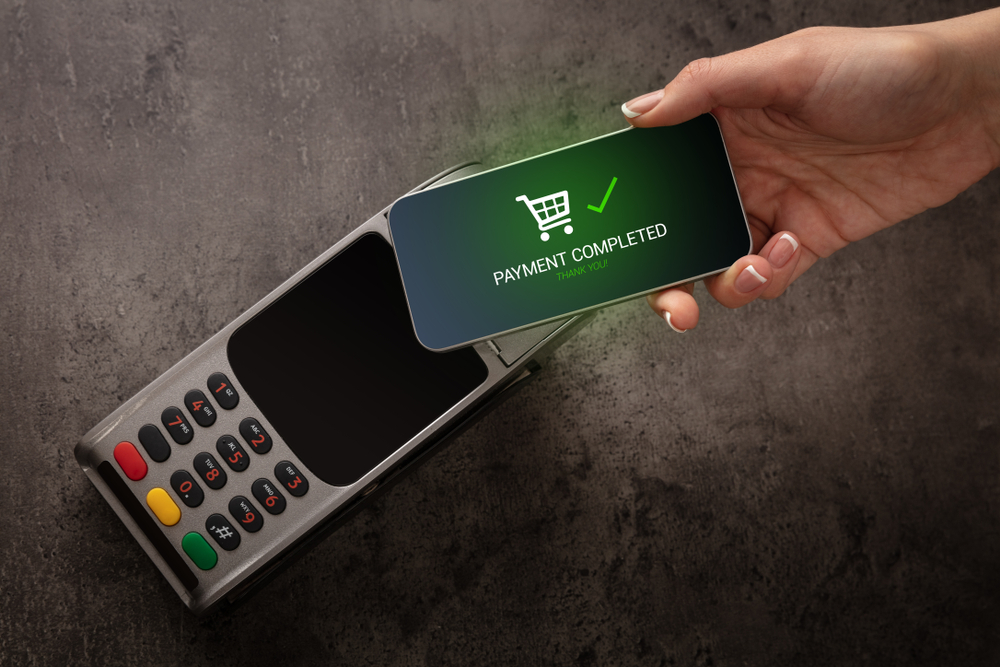 Mobile,payment,accepted,on,terminal