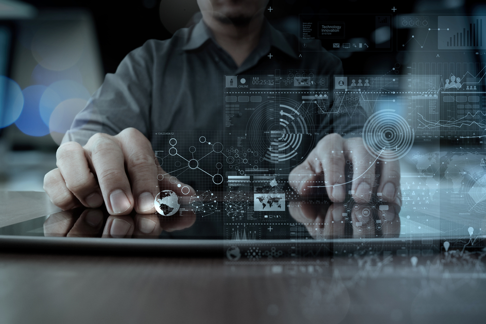 Businessman,hand,working,with,modern,technology,digital,tablet,computer,and